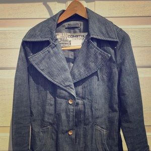 G Star Raw denim coat